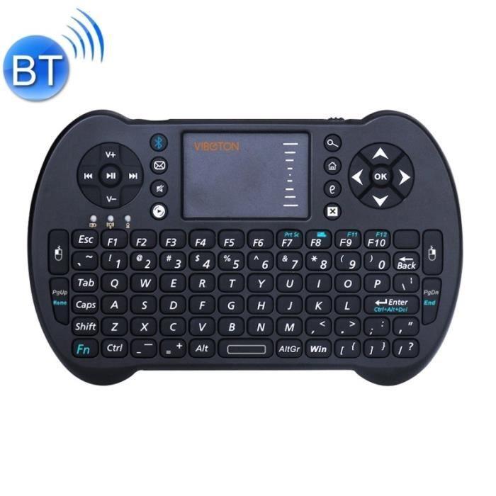 CLAVIER D'ORDINATEUR Accessoires Gadgets MINI PC 2,4 GHz sans fil Bluet