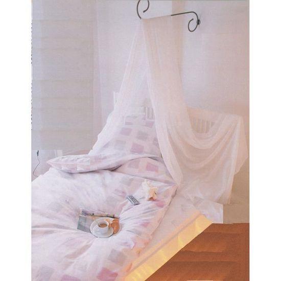 Ciel de lit tringle a rideau fer forgé droit Spira - Achat / Vente ...