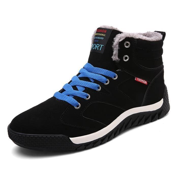 Up Skater Hommes Style Homme Étudiants Bleu Taille7 Chaud Lace Foncé Botte Simple New EApqKREy