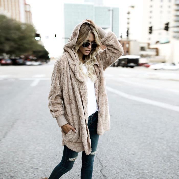 Parka Capuche Femme Manteau Outwear Frankmall Long Zy20186003 Manteaux À manteau 1xAHq0p