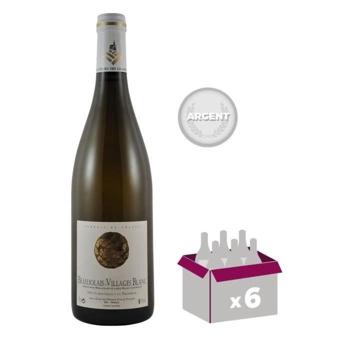 Cave de Fleurie - Beaujolais Villages - 2016 - Vin blanc x6VIN BLANC