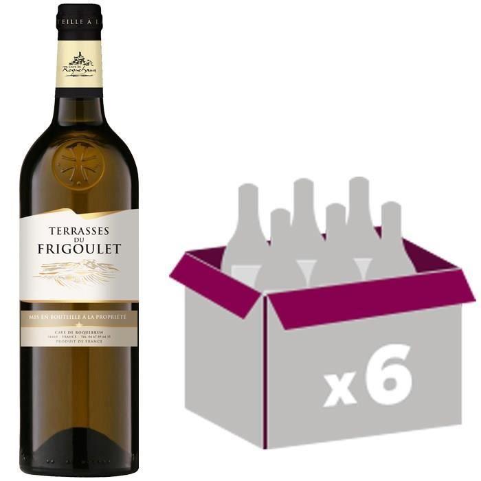 Cave de Roquebrun - AOC Coteaux du Languedoc - Terrasses du Frigoulet - 2016 - Vin blancVIN BLANC