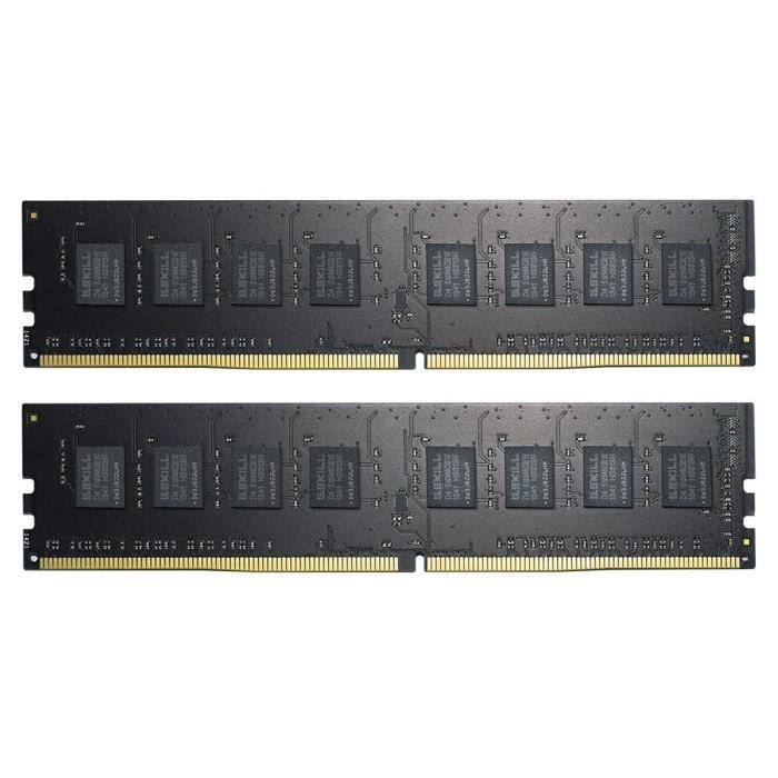 GSKILL NT Series Mémoire RAM - DDR4 - UD - 2 x 8Go - 2400Mhz - C17-17-17-39 - 1.2VNTMEMOIRE PC - PORTABLE