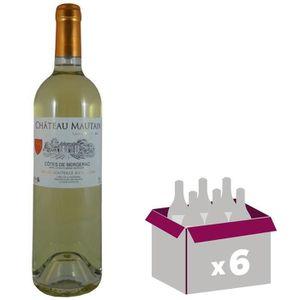 VIN BLANC Château Mautain 2016 Côtes de Bergerac - Vin blanc