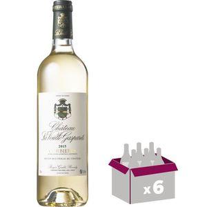 VIN BLANC Château La Voulte Gasparts 2016 Corbières - Vin bl