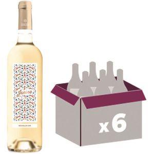 VIN BLANC Janine 2016 Côtes du Roussillon - Vin blanc du Lan
