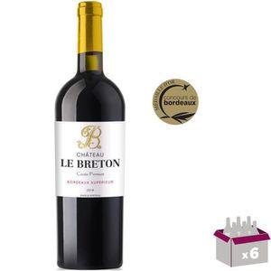 VIN ROUGE 3 achetées = 3 offertes Château Le Breton Cuvée Pr