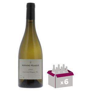 VIN BLANC Domaine Pélaquié 2016 Lirac - Vin blanc du Rhône