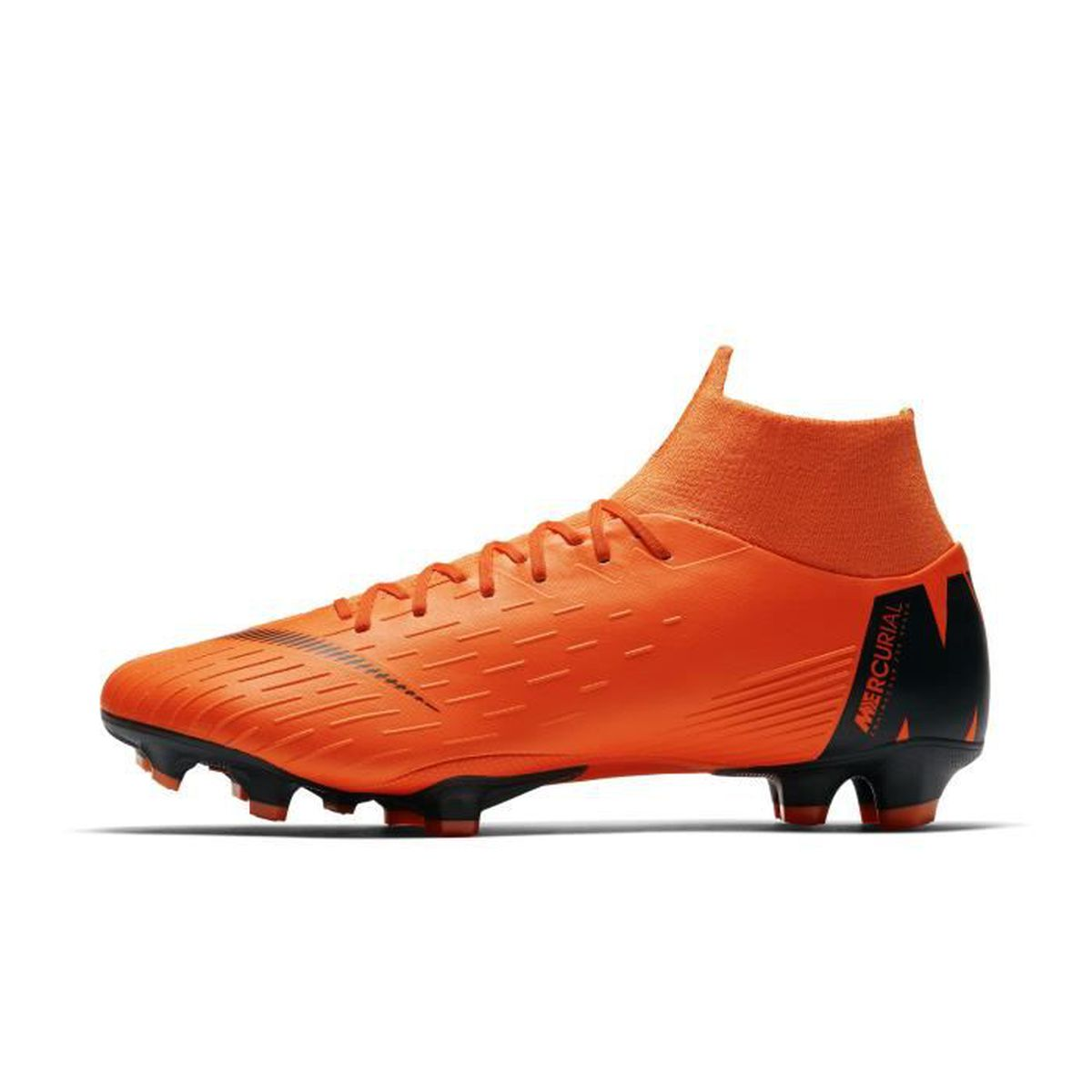 online store d8276 184ad CHAUSSURES DE FOOTBALL Nike Mercurial Superfly VI Pro FG, Sol ferme, Adul