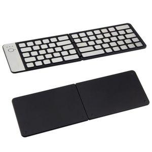TABLETTE TACTILE Portable Clavier pliable étanche Bluetooth 3.0 san