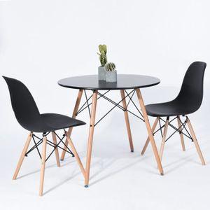 table de cuisine design achat vente pas cher. Black Bedroom Furniture Sets. Home Design Ideas
