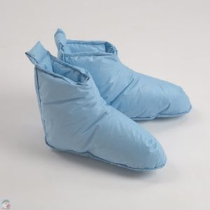 Chaussons duvet Femme M (Pointure 40-44) bleu 5lIbxZ8