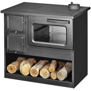 POÊLE À BOIS Poêle à bois cuisinière METAL M 9kW - 14kW