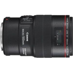 OBJECTIF Canon EF 100mm F2.8L Macro IS USM
