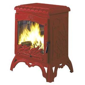 poele a bois rouge achat vente poele a bois rouge pas cher cdiscount. Black Bedroom Furniture Sets. Home Design Ideas