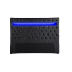 TÊTE DE LIT CELESTE Tête de lit avec LED style contemporain -