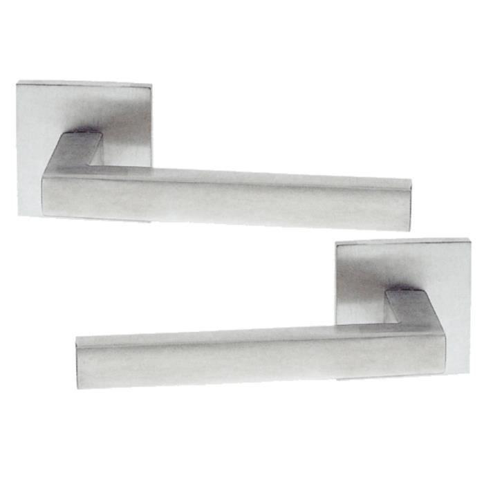 poign e de porte int rieure design en inox sur ros achat. Black Bedroom Furniture Sets. Home Design Ideas