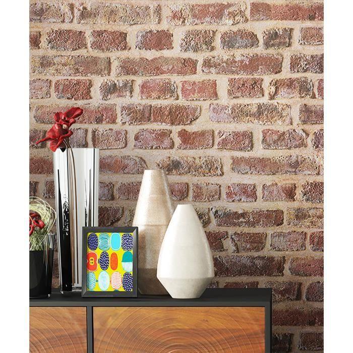 papier peint rouge achat vente quipement pour papier peint rouge pas cher. Black Bedroom Furniture Sets. Home Design Ideas