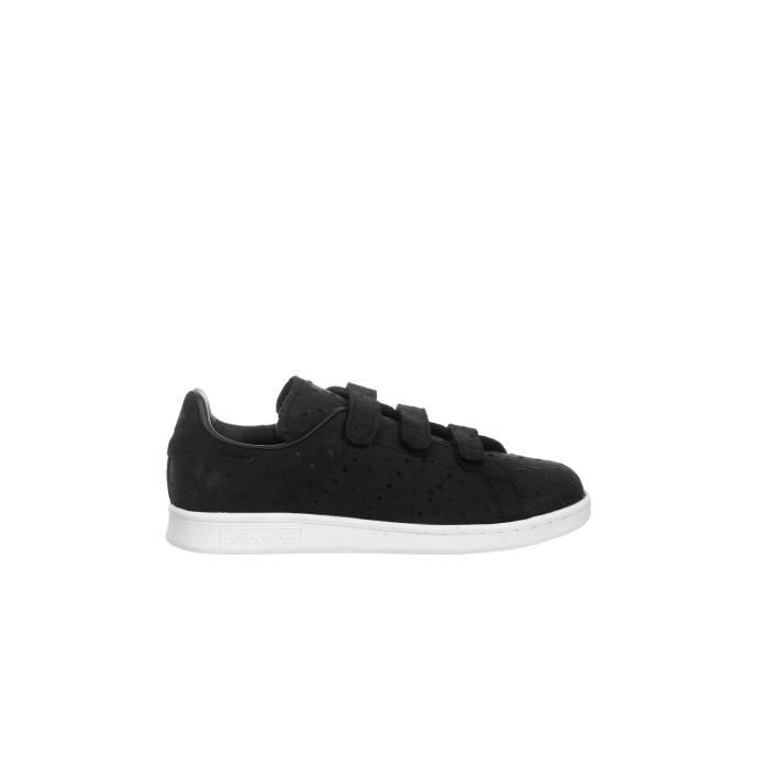 adidas Stan Smith Cf Velcro noire Chaussures adidas