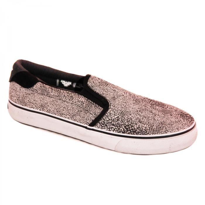 samples shoes SLIP ON FALLEN LOKER BLACK WHITE SNAKE MEN 1X0qCbC2rp