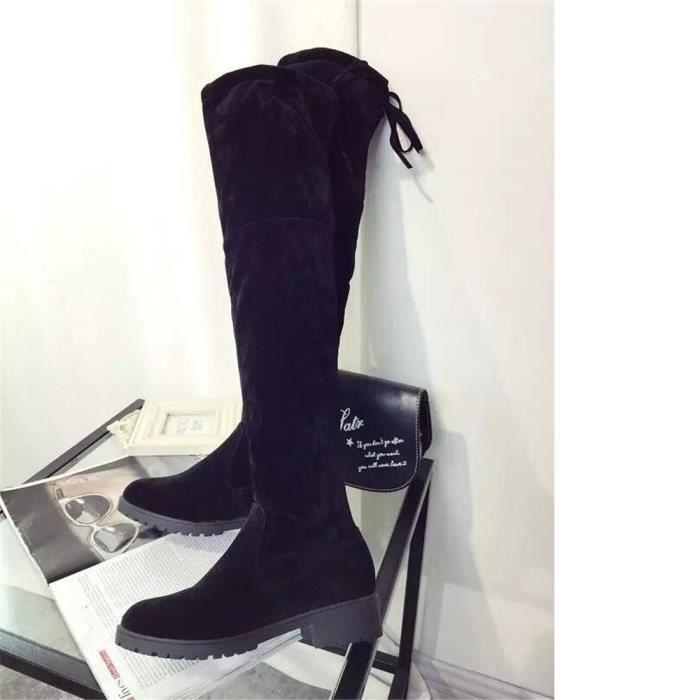 Bottines Femmes De Marque De Luxe Hiver Chaud Les Chaussures De Loisirs Qualité SupéRieure Bottines Femme Plusieurs Couleurs,noir,37