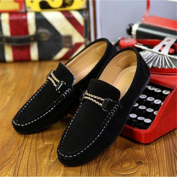 Homme Qualité de RéSistantes De Moccasin Hommes conduite Pour Plus Couleur Meilleure des L'Usure chaussures à Chaussure dwHBfq