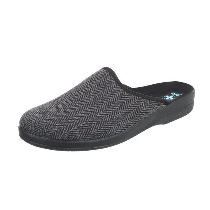 Hommes chaussures chaussons chaussons gris Multi 40 x3gC3UaBi7