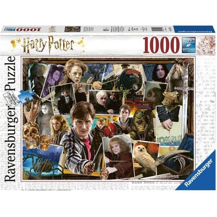 PUZZLE RAVENSBURGER Puzzle 1000 p - Harry Potter contre V