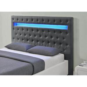 tete de lit avec eclairage achat vente tete de lit. Black Bedroom Furniture Sets. Home Design Ideas