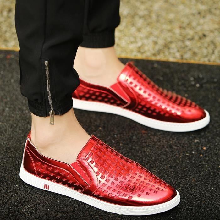 de Casual Male pour hommes Mocassins Véritable Slip d'homme en Chaussures Chaussures Chaussures Auto respirants cuir Mocassins OwvZXS1vq