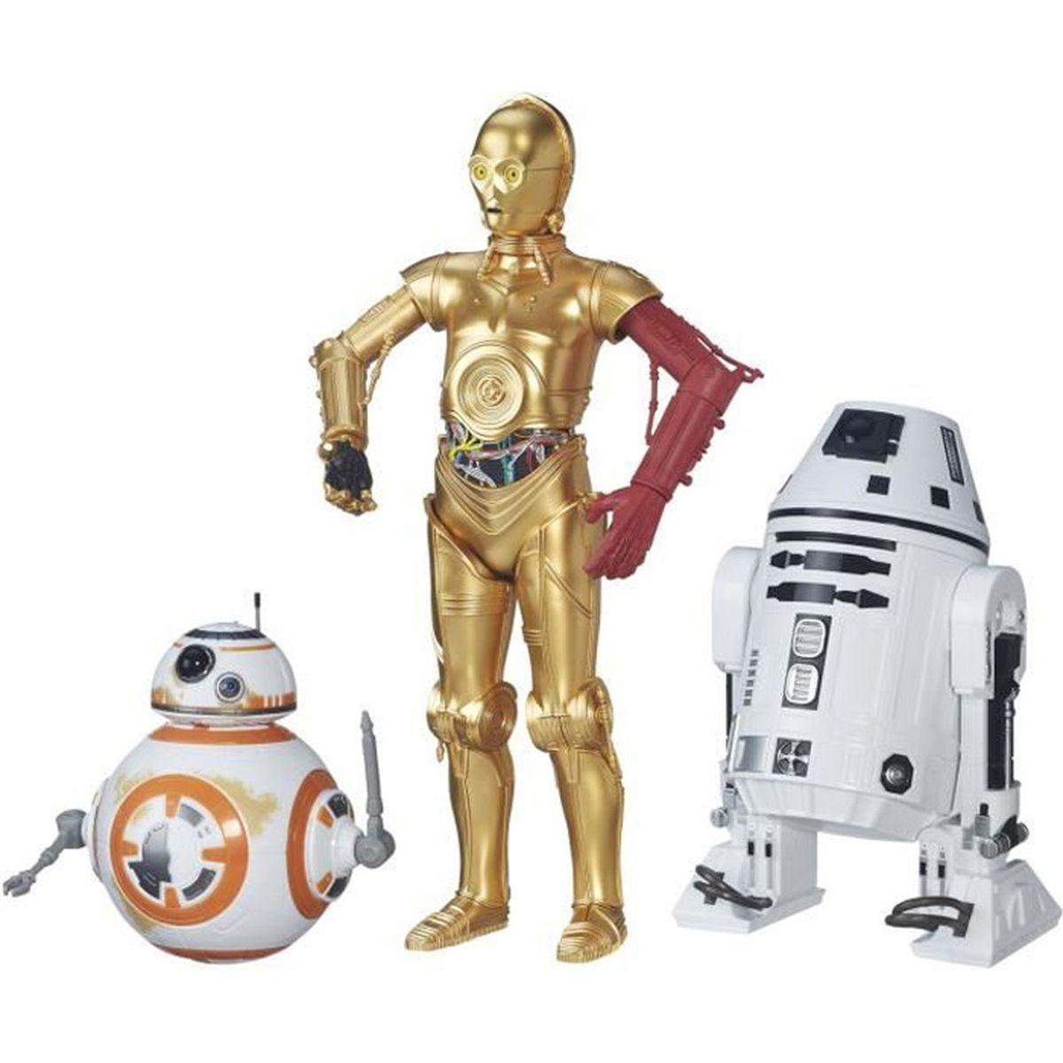 Star wars coffret 3 dro ds achat vente robot animal anim cdiscount - Robot blanc star wars ...