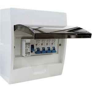 TABLEAU ÈLECTRIQUE ZENITECH Tableau électrique 8 modules - Equipé de