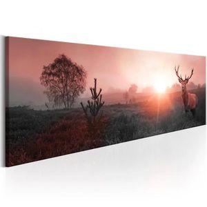 TABLEAU - TOILE Tableau  |  Sun on the Horizon | 150x50 | XL |  An