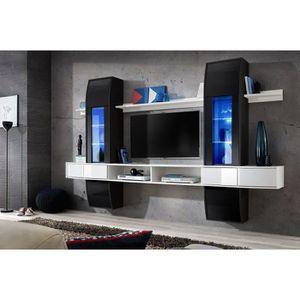 LIVING - MEUBLE TV Meuble TV design suspendu pour salon COMMETTE corp