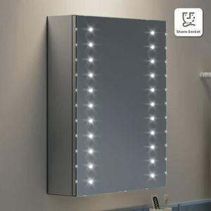 Meuble Miroir De Salle De Bain Lumineux Achat Vente Pas Cher