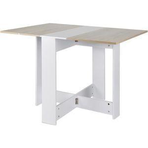 TABLE À MANGER SEULE Table à manger extensible de 6 à 8 personnes 103*7
