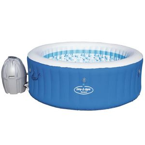 SPA COMPLET - KIT SPA BESTWAY Spa rond Havana gonflable 4 places