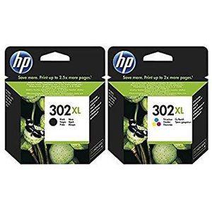 CARTOUCHE IMPRIMANTE Pack HP 302XL Noir + 302XL Couleurs