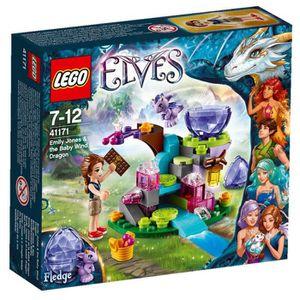ASSEMBLAGE CONSTRUCTION LEGO® Elves 41171 Emily Jones et le Bébé Dragon