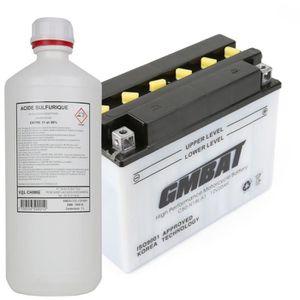 BATTERIE VÉHICULE Batterie tondeuse C50-N18L-A1 + acide - Produit ne