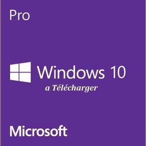 SYST EXPLOIT À TÉLÉCHARGER Windows 10 Professionnel - À télécharger - 32/64 b