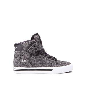 BASKET Chaussures SUPRA KIDS VAIDER black white