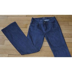 JEANS 7 For All Mankind Jeans pour Femme W 25 - L 30 Tai