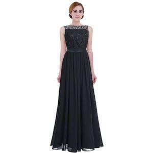 ce027713dcd866 ROBE DE CÉRÉMONIE Femme Robe de Mariage Longue Robe Demoiselle d'hon