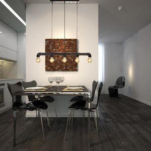 Plafonnier Style Industriel Luminaire D Interieur Forme De Tuyau D
