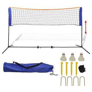 FILET DE BADMINTON Filet de badminton avec volants 300 x 155 cm