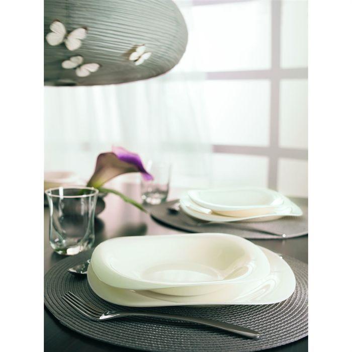 assiettes luminarc rectangulaire. Black Bedroom Furniture Sets. Home Design Ideas