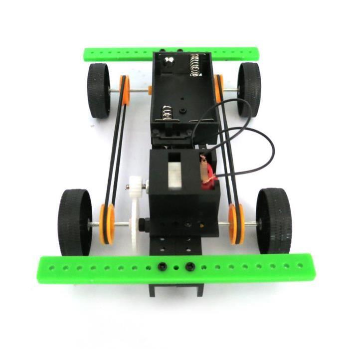 Gadget Jouet Éducatif cxx7315 Drôle Bricolage Enfants 1 Powered Voiture Pour Hobby Zmj70821456 Mini Kit Set E2IYW9DH