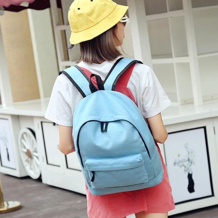 Pur Populaire À Simple Belle École Frais Style nyz09074452 Livre Sac Pachasky hommes Dos Toile College Femmes XwC66q