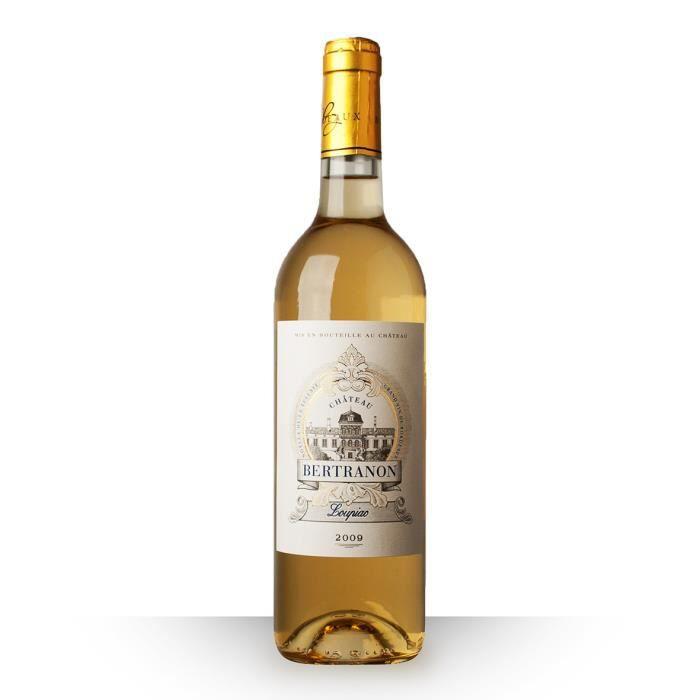 Populaire Château Bertranon 2009 Blanc 75cl AOC Loupiac - Vin Blanc - Achat  HF48
